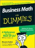 [EB00K] Business Math For Dummies (For Dummies (Business & Personal Finance)) [EB00K]
